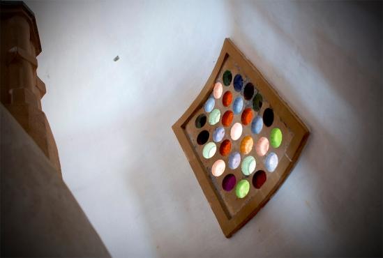 Luz y color en la escalera